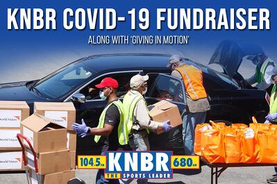 KNBR Covid-19 Fundraiser