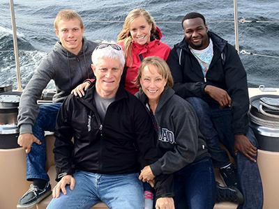 Torrey Olsen and family