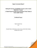 Angola Impact Assessment Report