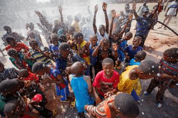 water celebration