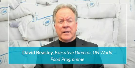 David Beasley, Executive Director, UN World Food Programme