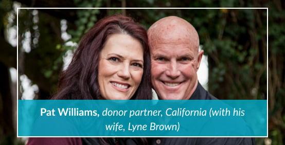 Pat and Lyne Williams