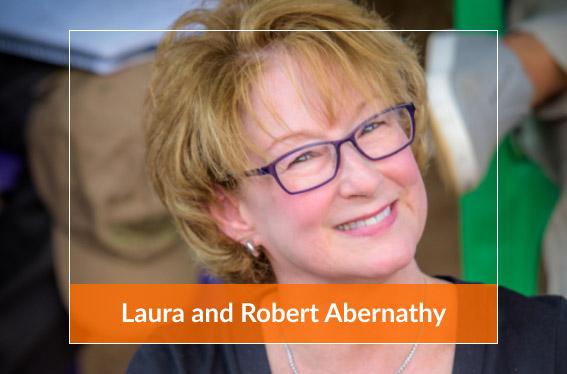 Laura and Robert Abernathy