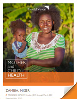2020 Semiannual Report - Mother and Child Health