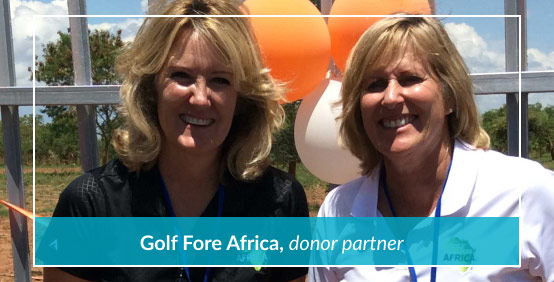 Golf Fore Africa, donor partner