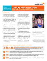 Child Protection Annual Report
