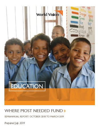 Education Where Most Needed Report FY19 Semiannual
